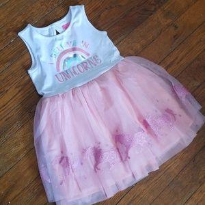 "*NWT* 🦄""I Believe In Unicorns"" tutu dress"
